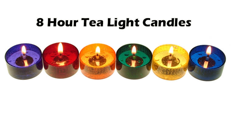 8 Hour Tea Lights